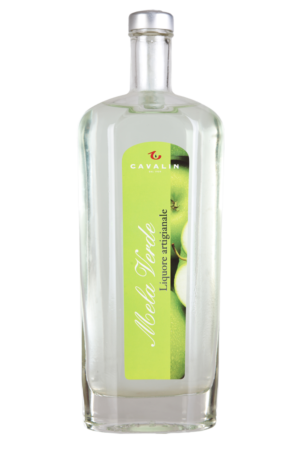 Liqueur of green apple